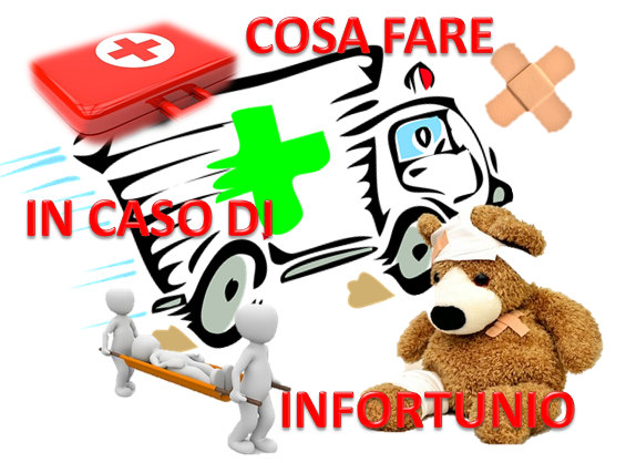Cosa fare in caso d'infortunio